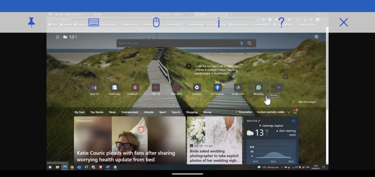 VNC Viewer for Android view